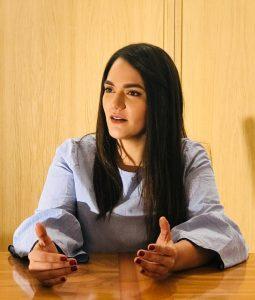 Estefanía Parra - Coordinadora de Voluntad Popular Internacional